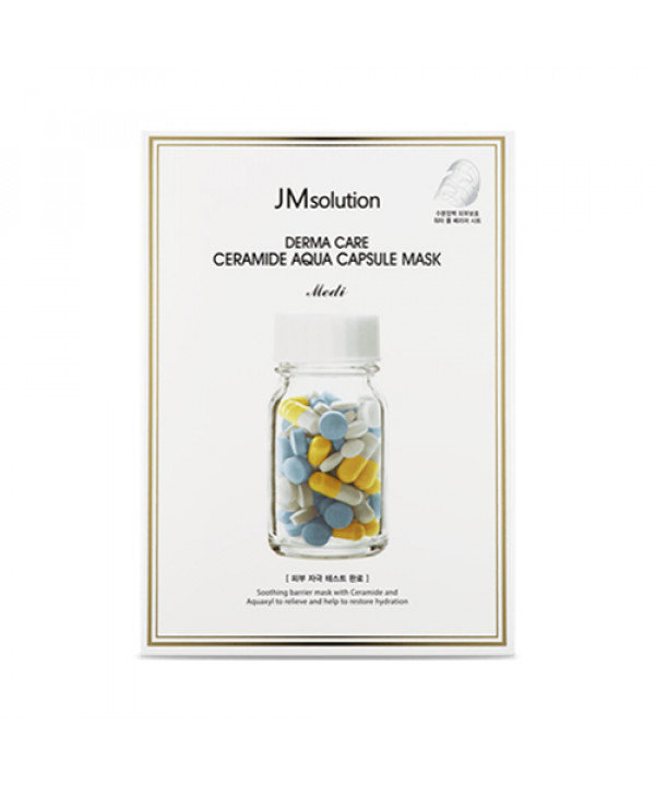 [JMsolution] Derma Care Ceramide Aqua Capsule Mask - 1pack (10pcs)