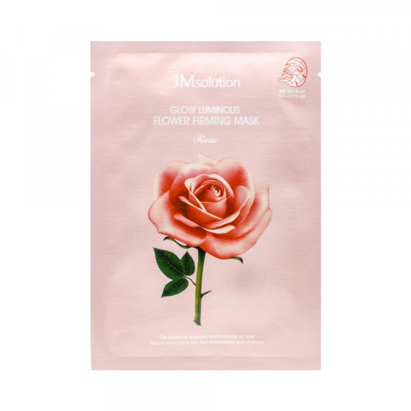 [JMsolution] Glow Luminous Flower Firming Mask Rose - 1pack (10pcs)