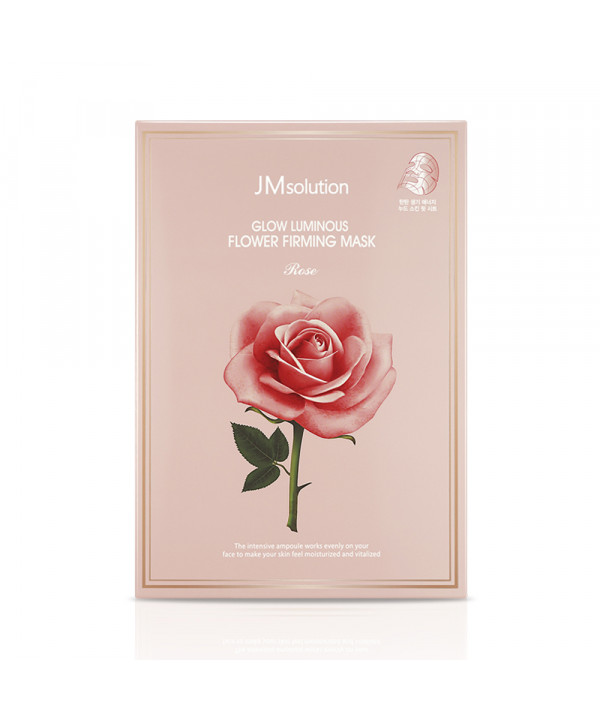 [JMsolution] Glow Luminous Flower Firming Mask Rose - 1pack (10pcs)