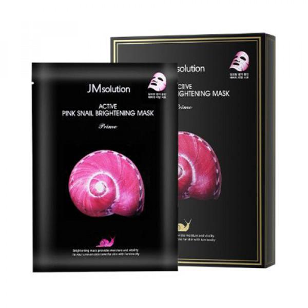[JMsolution] Active Pink Snail Brightening Mask Prime - 1pack (10pcs)