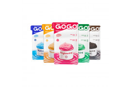 [JUST GOGO] Clay 2 Step Mask - 1pack (5pcs)(2020.10.10)