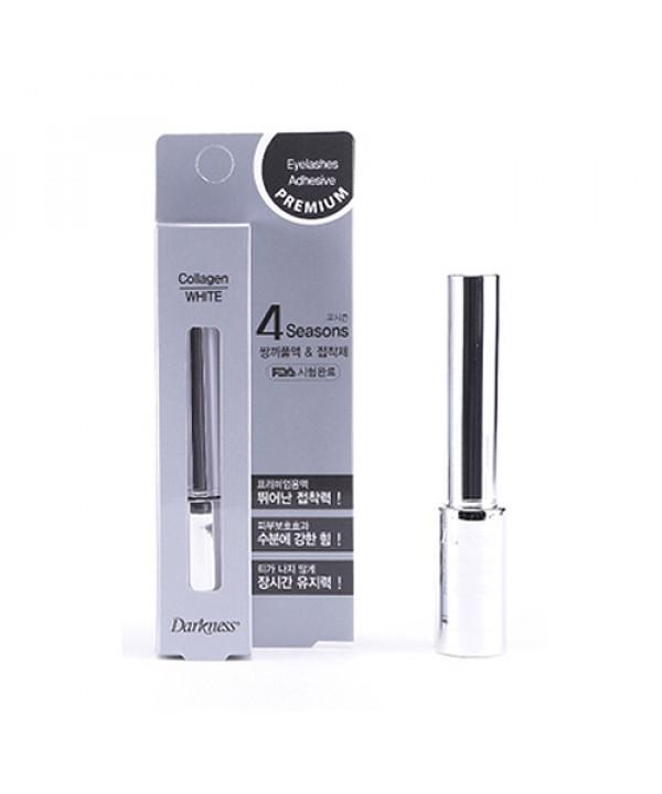 [JUT_50% SALE] Premium 4seasons Eyelashes Adhesive White  - 7ml