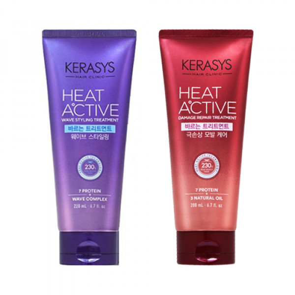 W-[KERASYS] Heat Active Leave In Treatment - 200ml x 10ea