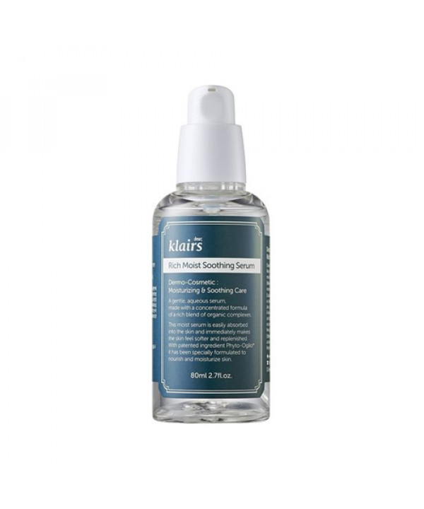 [Klairs] Rich Moist Soothing Serum - 80ml