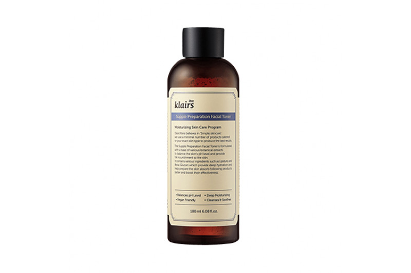 [Klairs] Supple Preparation Facial Toner - 180ml