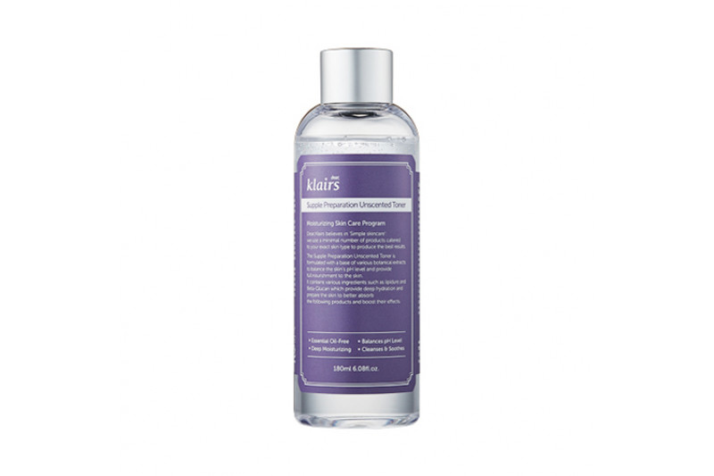[Klairs] Supple Preparation Unscented Toner - 180ml