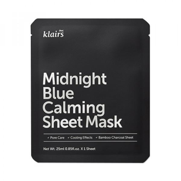 [Klairs] Midnight Blue Calming Sheet Mask - 1pcs