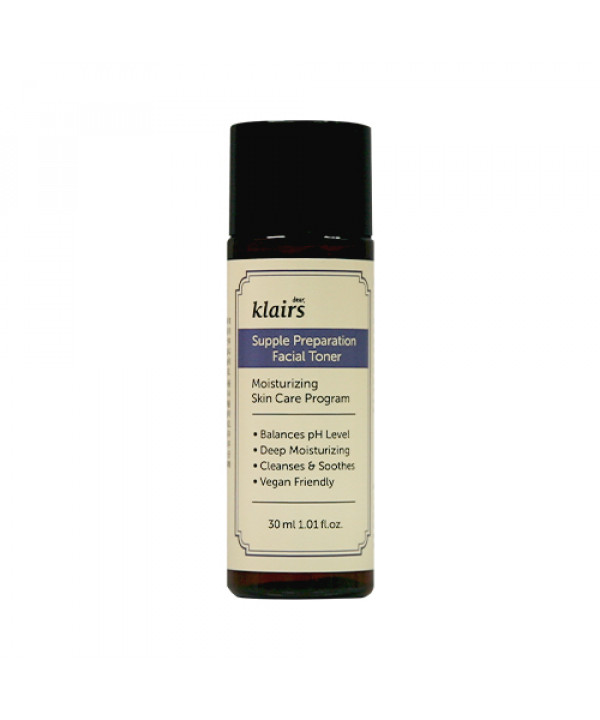 [Klairs] Supple Preparation Facial Toner (Mini) (2020) - 30ml