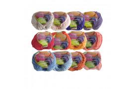 [KNIT] Soft Pure Cotton Macaron Yarn (Part 3) - 1pcs
