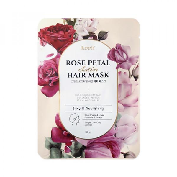[KOELF] Rose Petal Satin Hair Mask - 3pcs