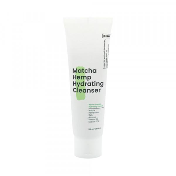 [KRAVEBEAUTY] Matcha Hemp Hydrating Cleanser - 120ml