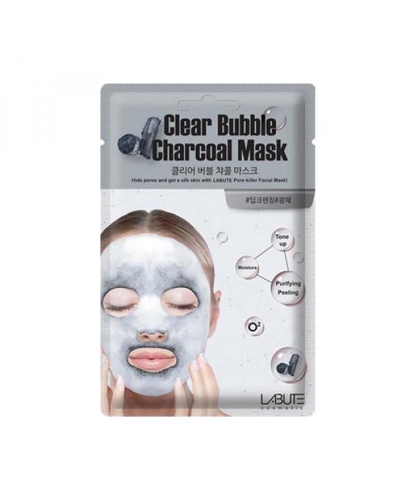 [LABUTE] Clear Bubble Charcoal Mask - 1pcs