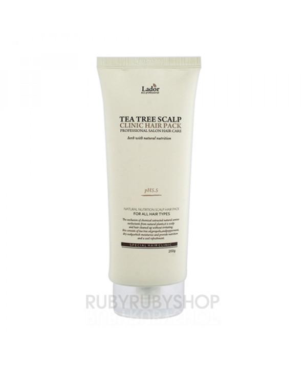 [Lador] Tea Tree Scalp Clinic Hair Pack - 200g