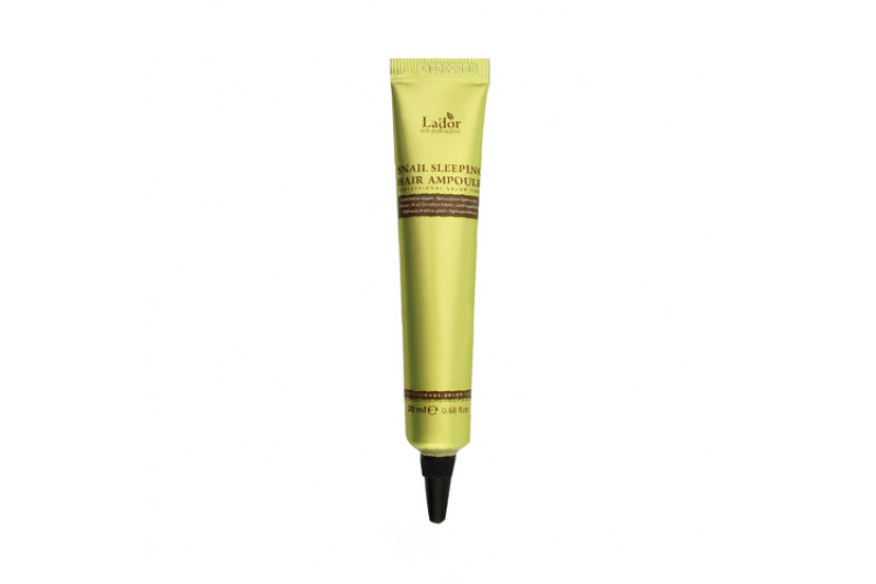 [Lador] Snail Sleeping Hair Ampoule - 20ml