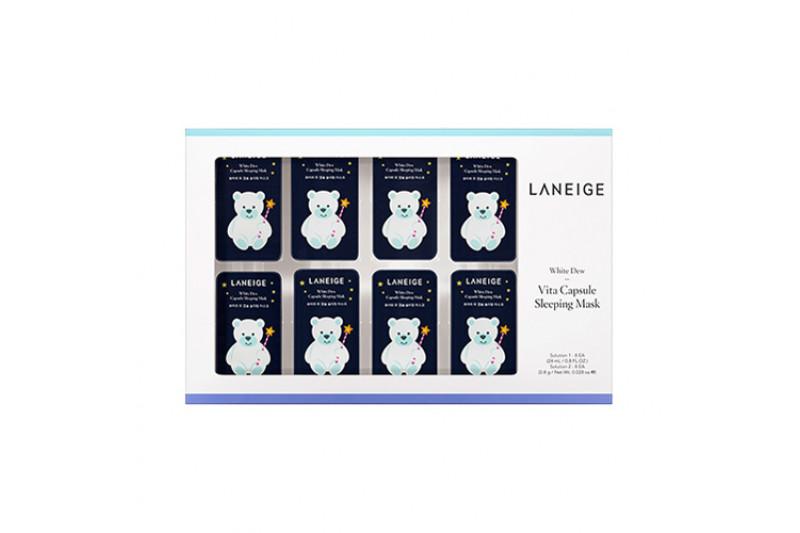 [LANEIGE] White Dew Vita Capsule Sleeping Mask - 1pack (8uses)