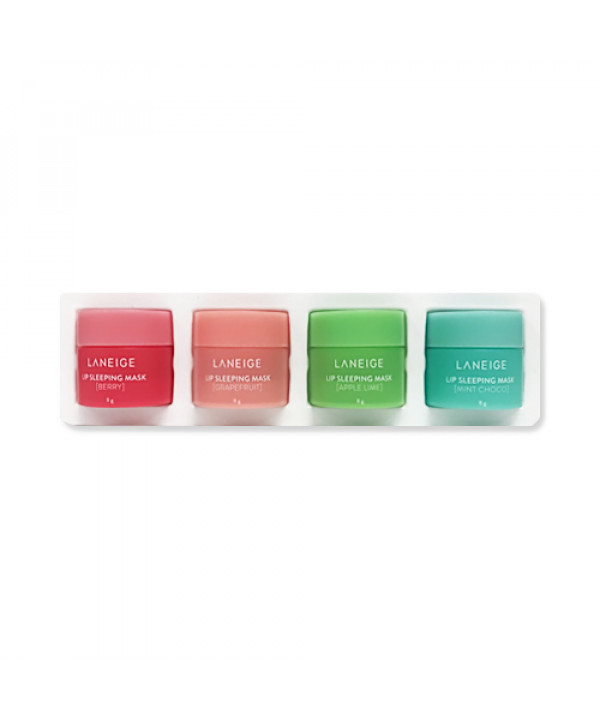 [LANEIGE_40% SALE] Lip Sleeping Mask Mini Kit - 1pack (4pcs)