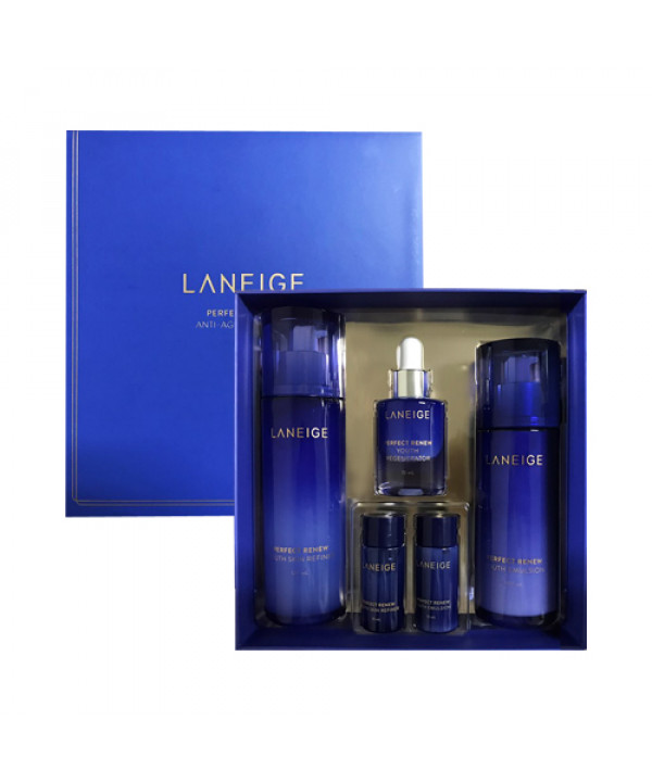 [LANEIGE] Perfect Renew Anti Aging Duo Set - 1pack (5items)