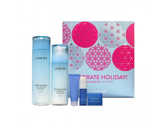 [LANEIGE] Basic Duo Set (Holiday Edition) - 1pack (5items) No.Moisture