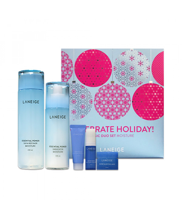 W-[LANEIGE] Basic Duo Set (Holiday Edition) - 1pack (5items) No.Moisture x 10ea