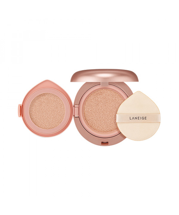 [LANEIGE] Layering Cover Cushion & Concealing Base - 1pack (14g + 2.4g) (SPF34 PA++)