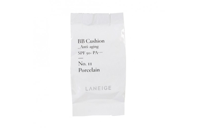 [LANEIGE] BB Cushion Anti Aging Refill - 15g (SPF50+ PA+++)