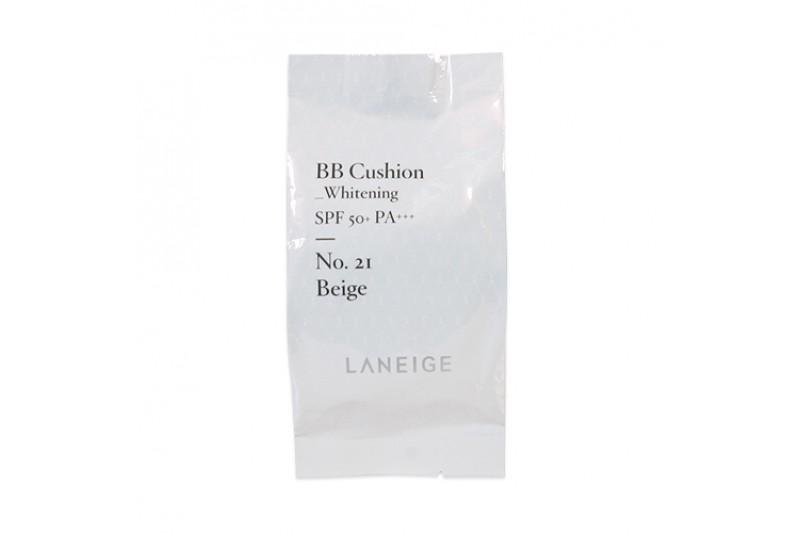 [LANEIGE] BB Cushion Whitening Refill - 15g (SPF50+ PA+++)