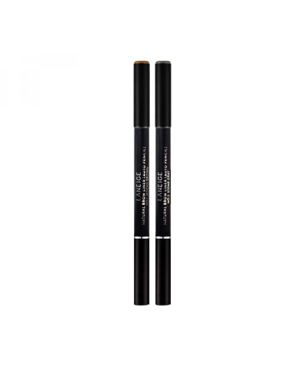 [LANEIGE] Natural Brow Liner Auto Pencil (2020) - 1pack (0.18g+Refill)