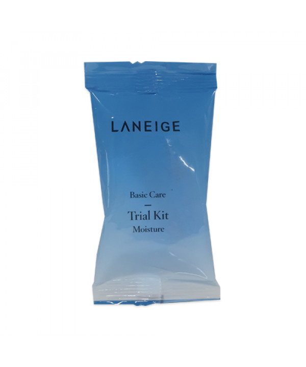 [LANEIGE_Sample] Basic Care Moisture Trial Kit Samples - 1pack (5ml x 2items)