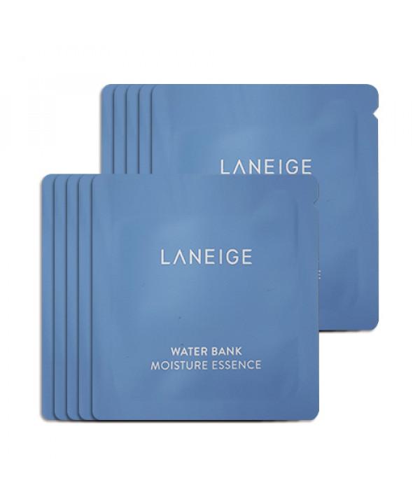[LANEIGE_Sample] Water Bank Moisture Essence Samples - 10pcs