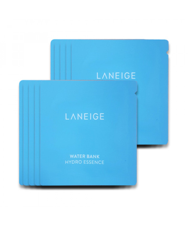 [LANEIGE_Sample] Water Bank Hydro Essence Samples - 10pcs