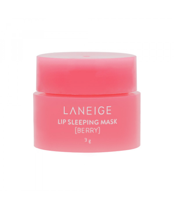 [LANEIGE_Sample] Lip Sleeping Mask Sample - 3g No.Berry