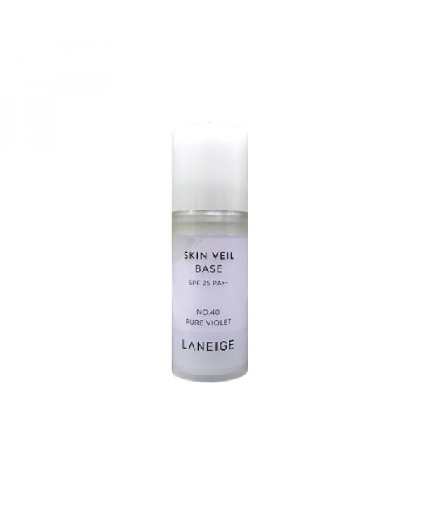 [LANEIGE_Sample] Skin Veil Base No.40 Pure Violet Sample - 10ml