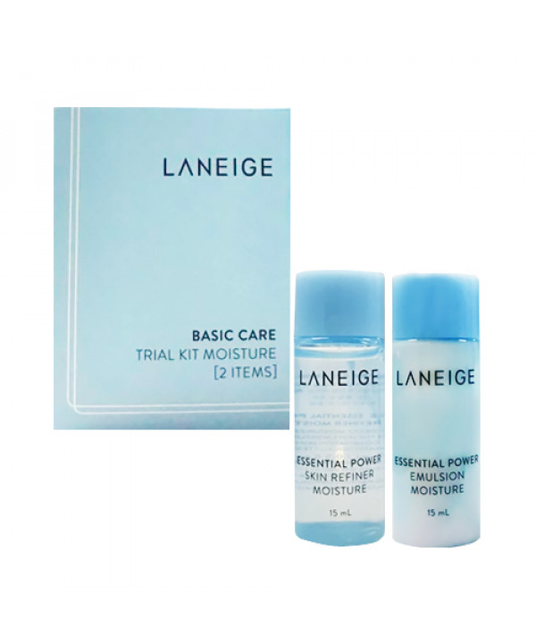 [LANEIGE_Sample] Basic Care Trial Kit Moisture Sample - 1pack (15ml x 2item)