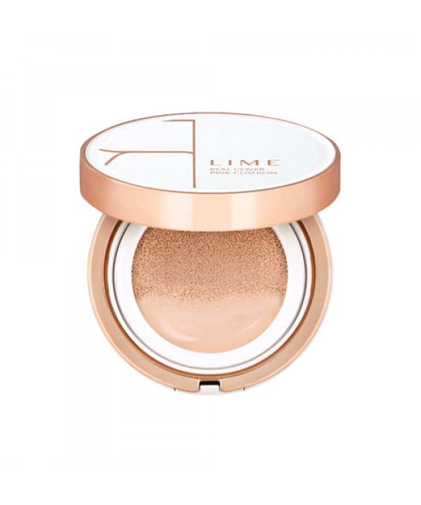 [LIME] Real Cover Pink Cushion - 20g (SPF50+ PA+++)