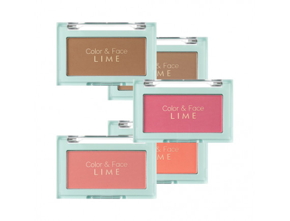 [LIME] Color & Face Single Blusher - 4.5g