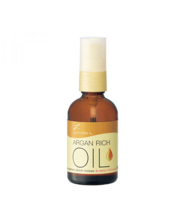 [LUCIDO L] Argan Rich Oil Hair Treatment Oil Rich Moisture - 60ml