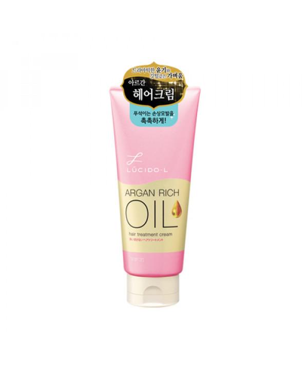 W-[LUCIDO L] Argan Rich Oil Hair Treatment Cream - 150g x 10ea