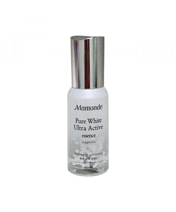 [Mamonde] Pure White Ultra Active Essence - 40ml