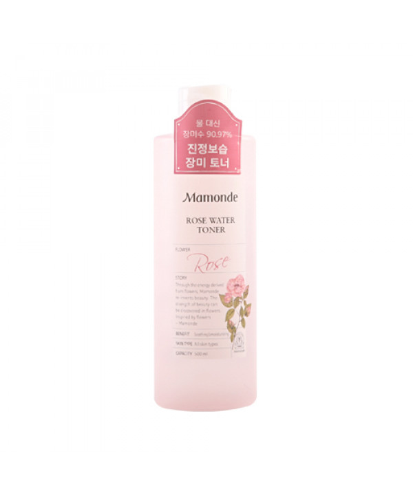 W-[Mamonde] Rose Water Toner - 500ml (New) x 10ea