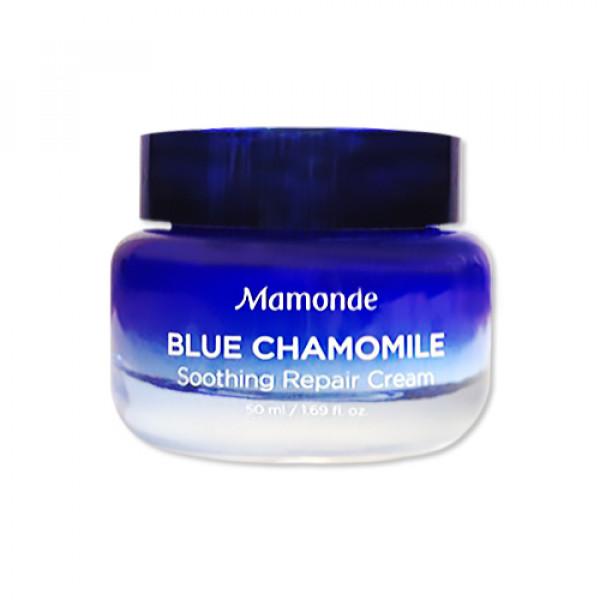 [Mamonde] Blue Chamomile Soothing Repair Cream - 50ml