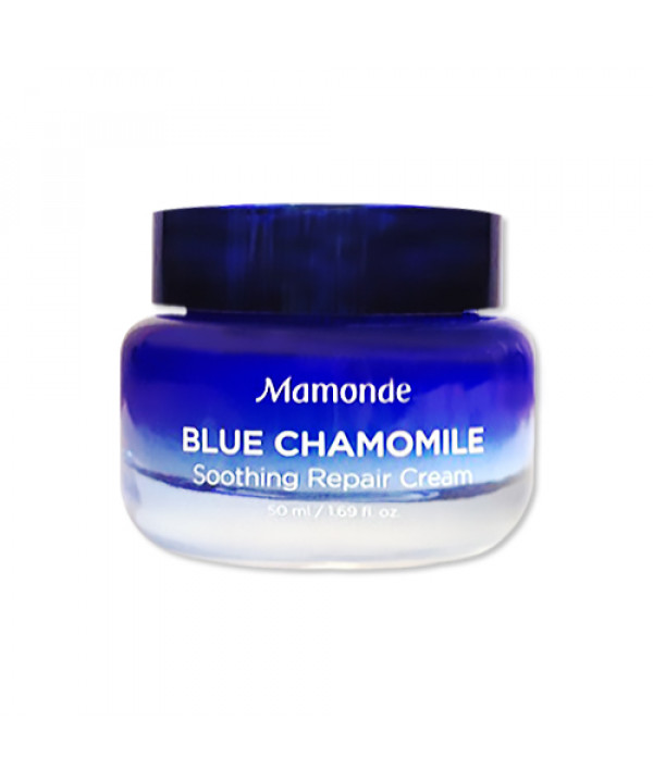 [Mamonde] Blue Chamomile Soothing Repair Cream - 50ml
