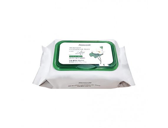 [Mamonde] Micro Deep Cleansing Oli Tissue - 1pack (50pcs)