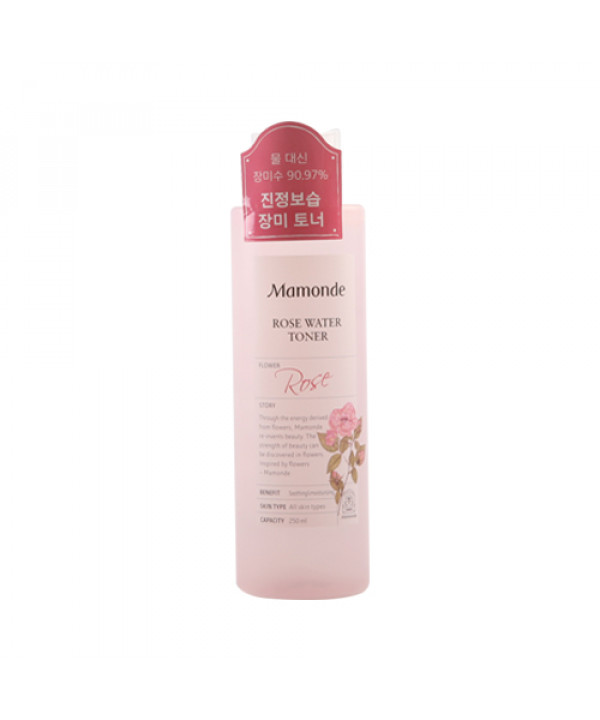 W-[Mamonde] Rose Water Toner - 250ml (New) x 10ea