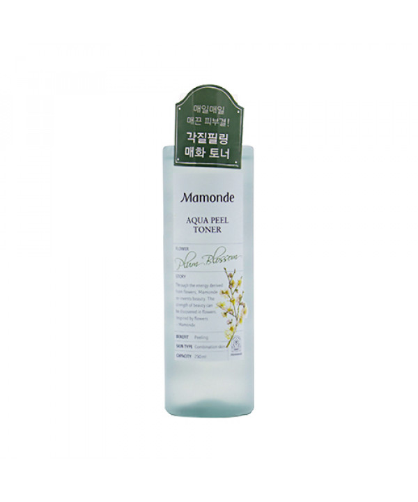 W-[Mamonde] Aqua Peel Toner - 250ml (NEW) x 10ea