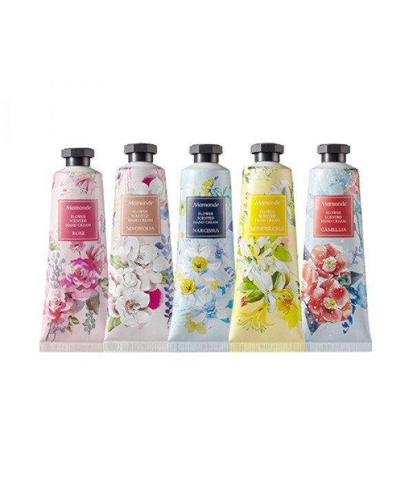 W-[Mamonde] Flower Scented Hand Cream - 50ml x 10ea