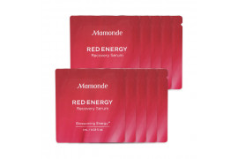 [Mamonde_Sample] Red Energy Recovery Serum Samples - 10pcs