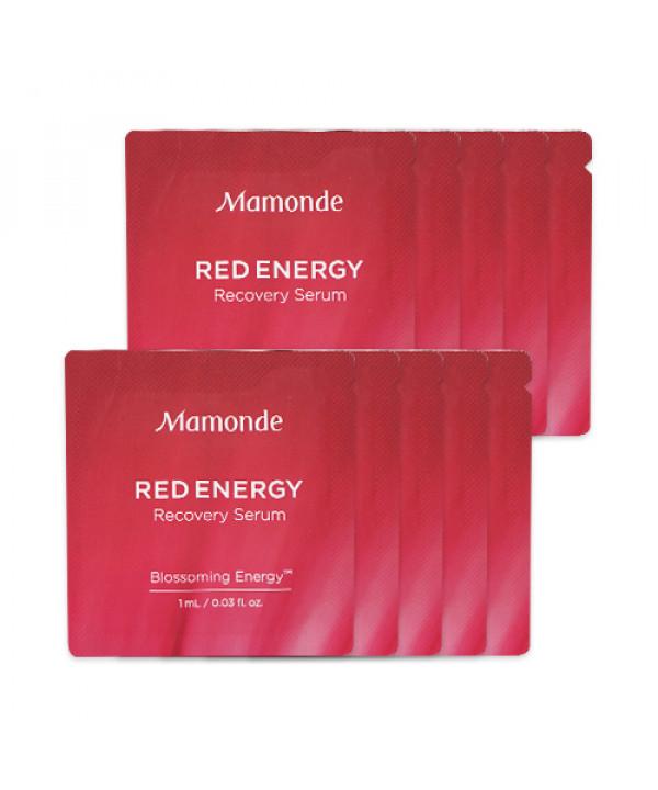 [Mamonde_Sample] Red Energy Recovery Serum Samples - 10pcs