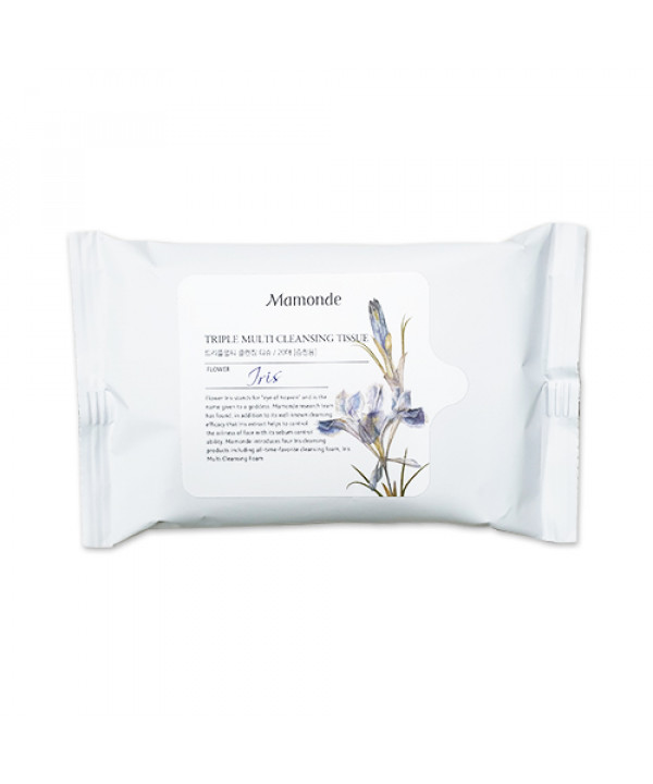 [Mamonde_Sample] Triple Multi Cleansing Tissue Sample - 1pack (20pcs)