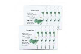 [Mamonde_Sample] Micro Deep Cleansing Foam Samples - 10pcs