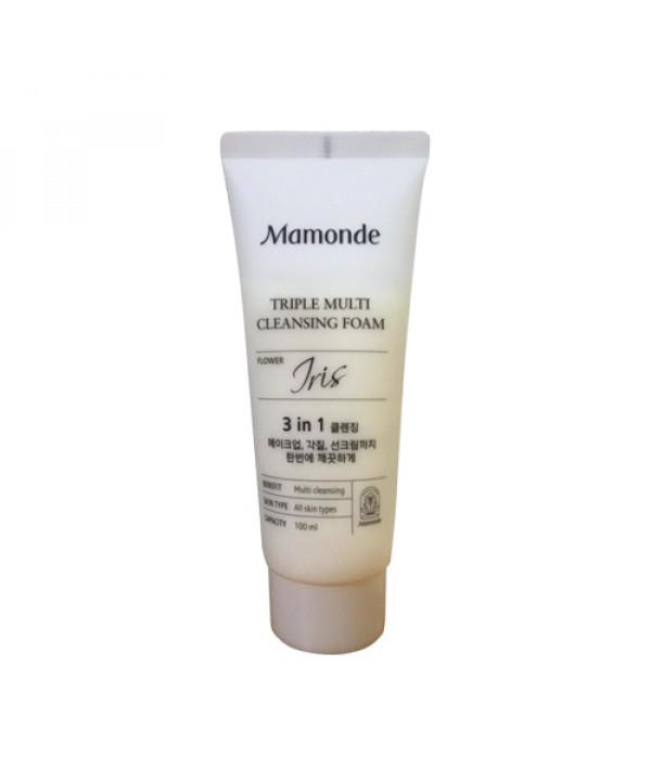 [Mamonde_Sample] Triple Multi Cleansing Foam Sample - 100ml